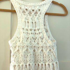 ADORABLE Victoria Secret knit crop top